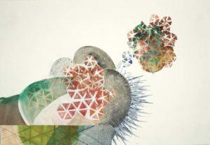 friederike graben aquarell Zeichnung faltung collage azf19 2020