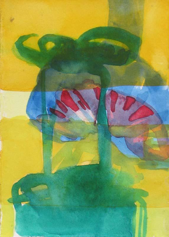 friederike graben aquarell 2005